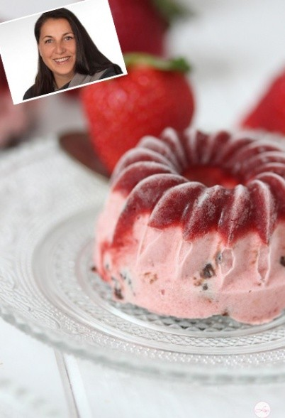 Erdbeer-Sahne-Eis von Lisbeths Cupcakes