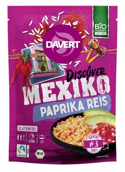 Mexiko Paprika Reis Glutenfrei 125g