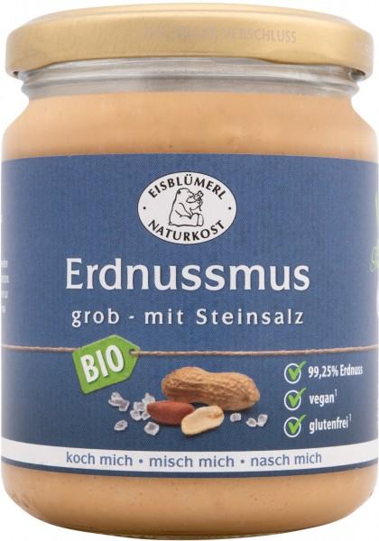 Erdnussmus grob mit Steinsalz 250g