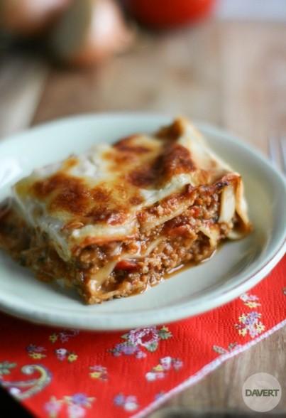 Klassische Soja-Lasagne