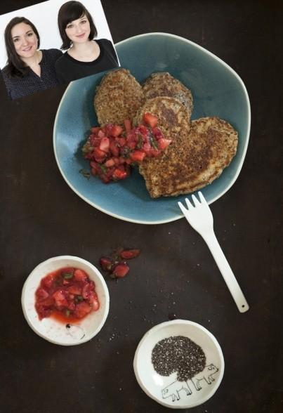 Chia-Pancakes von Liz & Jewels