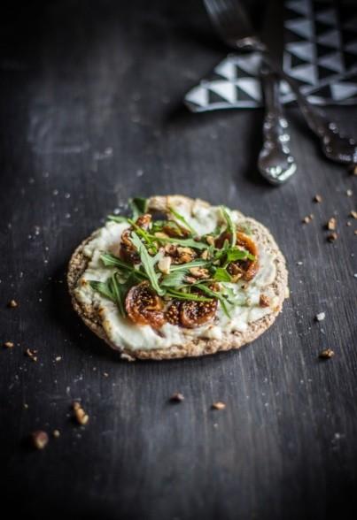 Kleine Feige-Ziege (Minipizza)