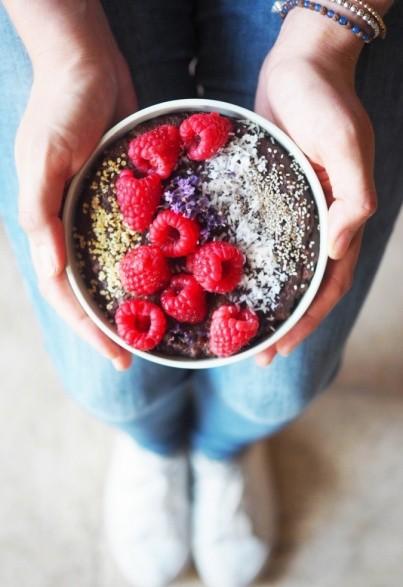 Veganer Canihua-Schoko-Pudding