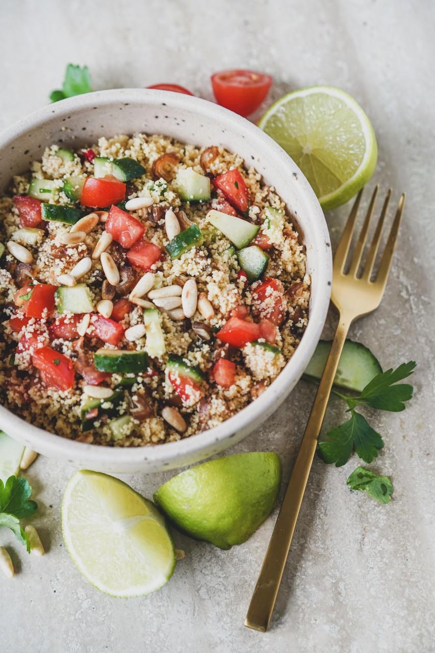 Orientalischer Power Salat