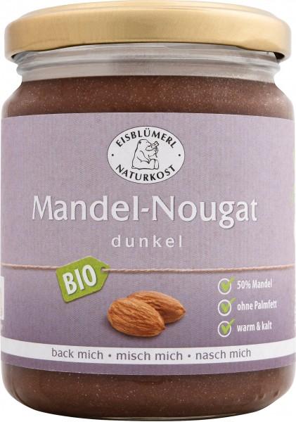 Mandel-Nougat, dunkel 250g