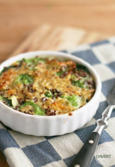 Quinoa-Gemüse-Gratin