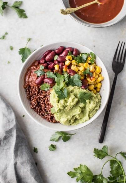 Red Rice Burrito Bowl